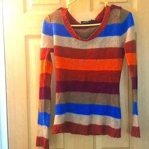 Ladies striped sweater